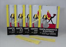 CARTA Aromatica d'ERITREA 300 listelli n°5 confezioni profumo ambienti