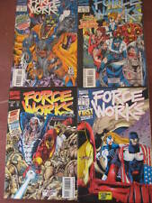 3 FORCE WORKS COMICS- No.1-4 -MARVEL ISSUED--VIEW PHOTO.
