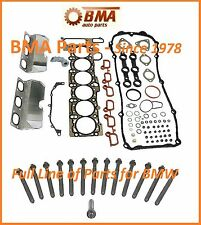 E46 323i 328i E39 528i & Z3 HEAD GASKET SET w/Head Bolt Set - OEM REINZ