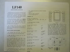 Dura-Craft Lafayette Lf140 Dollhouse assembly instructions-Orig. booklet