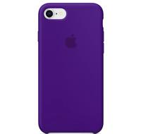 iPhone 8 / 7 / SE 2020 Apple Echt Original Silikon Schutz Hülle - Ultraviolett