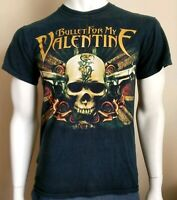 BULLET FOR MY VALENTINE mens size Small tshirt black band metalcore heavy rock