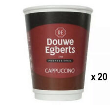 More details for douwe egberts cappuccino cup drinks, 12oz, sealed x 20
