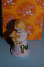 Enesco Growing up Girls age 1 #1 1st Blonde Figurine New Mib