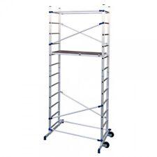 BULTO Rollgerüst Clic Arbeitshöhe bis 4,36 m mit Treppenanpassung Fahrgerüst