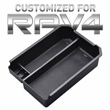 for Toyota RAV4 14-18 Central Console Armrest Box Auxiliary Storage Box Console Organizer Insert Tray ABS