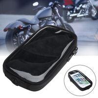 Sacoche Selle Sac Phone Navigation GPS Magnétique Chambre d'huile Réservoir Moto