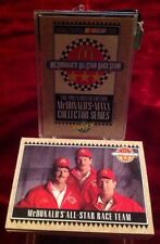 1992 MCDONALD'S NASCAR MAXX 36 CARD SET DALE EARNHARDT ELLIOTT ALLISON MINT