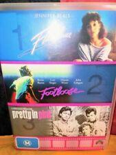 Flashdance Footloose Pretty in Pink DVD - & Kevin Bacon 3 Discs
