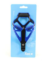 TACX Deva Bicycle Cycling Water Bottle Cage 29 Grams, Blue