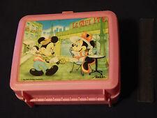 "Disney'S - Mickey & Minnie - Lunch Box) w/ Thermos) ""Le Cafe Paris"") Aladdin)"