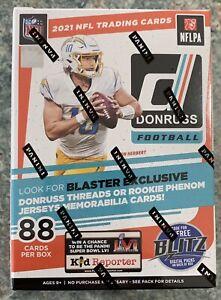 2021 Panini Donruss NFL Football Blaster Box - Brand New Factory Sealed