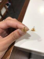 Vivienne Westwood Gold Stud Mini Earrings