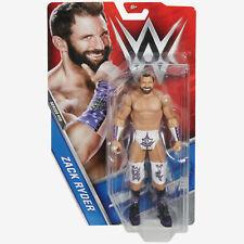 Mattel WWE Basic Series 72 Zack Ryder ( Card not mint )
