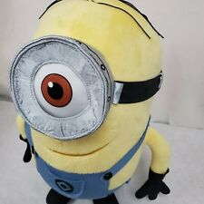 "Universal Studios Despicable Me Minion Mayhem DAVE MINION 13"" Plush STUFFED Toy"