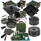 NEW FISHING CUTLERY KETTLE CAMPING SET. NGT TOASTIE MAKER AND FRYING PANS