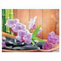Fototapete Steine Orchidee Bambus Wellness bunt liwwing no. 298