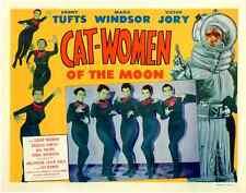 "Cat-Women of the Moon Movie Poster Replica 11x14"" Photo Print"