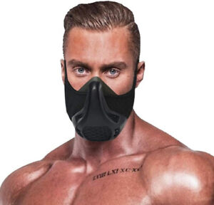 Breathable Training Mask Built for High Altitude-Intensity Cardio and Workouts