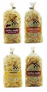 Carba-Nada Low-Carb Fettuccine Pasta Variety Pack, 4, 10 oz Bags
