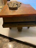 Piano Music Box Cuendet Switzerland Bakelite (AD) Thorens (?) Rare Violin