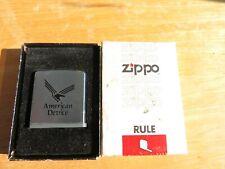 """Zippo Tape Measure No 6260 Rule  """"American Device"""" In Original Box"""