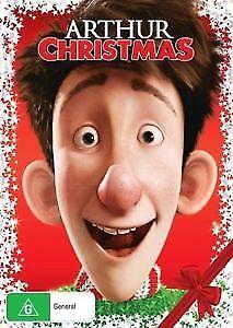 Arthur Christmas DVD NEW Region 4