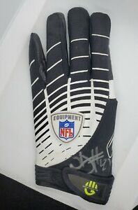 NATE BURLESON AUTOGRAPH SIGNED GAME USED GLOVE SEATTLE SEAHAWKS NFL COA