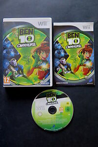 WII : BEN 10 OMNIVERSE - Completo, ITA ! Compatibile Wii U