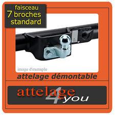 ATTELAGE fixes pour VW T4 et 4x4 1996-2002 + faisceau standard 7 broches