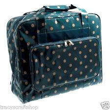 Sewing Machine Bag Sewing Machine Storage Bag in Blue/Grey Spot Vinyl Material