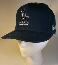 New Era 59Fifty Los Angeles LA Dodgers Game Fitted Hat (Dark Royal) MLB Cap