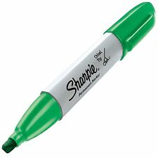 Sharpie Chisel, Green (SHP 38284) - 12/pk