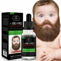 Natural Organic Men Beard Growth Oil Wax balm Hair Loss Products Leave-In