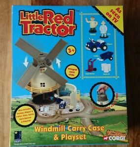 RARE Corgi TY88806 Little Red Tractor Windmill Carry Case & Playset Age 3+ NEW