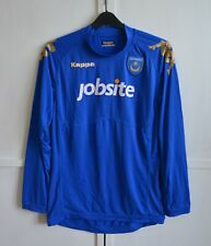 PORTSMOUTH FC 2011 2012 HOME FOOTBALL SHIRT LONG SLEEVE SOCCER JERSEY KAPPA (L)