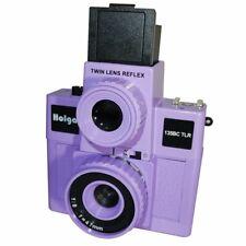 Usd - Holga 135Bc Tlr / 135Bctlr Twin Lens Reflex 35mm Film Camera Purple