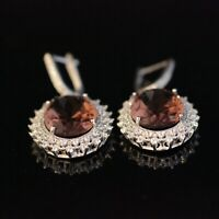 925 Sterling Silver Handmade Authentic Turkish Alexandrite Earring