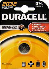 Piles jetables Duracell pour équipement audio et vidéo CR2032
