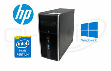 HP Compaq 8300 Elite CMT G2130 3,20GHz 500GB HDD 8GB RAM DVD RW Win10 Pro