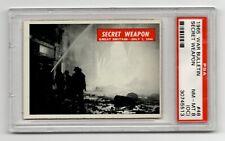 1965 War Bulletin #48 Secret Weapon Pilotless Buzz Bombs London 1944 PSA 8 OC