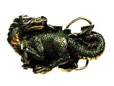 1984 Dragon Belt Buckle By Great American Buckle Co. Made In USA 102615