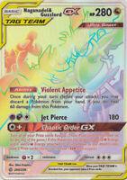 Pokemon Card : NAGANADEL & GUZZLORD GX 260/236 Cosmic Eclipse Secret Rare NM