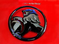 HOLDEN VY VZ COMMODORE SEDAN Boot Lid Badge Custom Piano Black