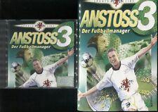 Anstoss 3 - Der Fussballmanager !! Das Original mit Handbuch !! ein Muss !!