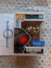 Black Manta Funko Pop! # 248 Aquaman Walmart Exclusive