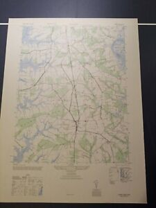 1940's Army topographic map Trappe Maryland  -Sheet 5761 II NE