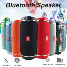 Tg116 Portable Waterproof Bluetooth Speaker Outdoor Usb Fm Tf Card Subwoofer Box