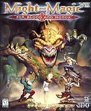 Might and Magic 7 VII For Blood and Honor 2-disc set (PC, 1999)
