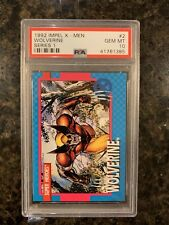 1992 Impel X-Men #2 Wolverine PSA 10